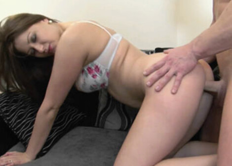 Horny housewife Lara bangs her husband